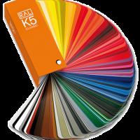 Thẻ màu RAL K5