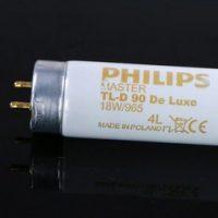 Bóng đèn so màu D65 Philips TL-D90 Deluxe 18W/965