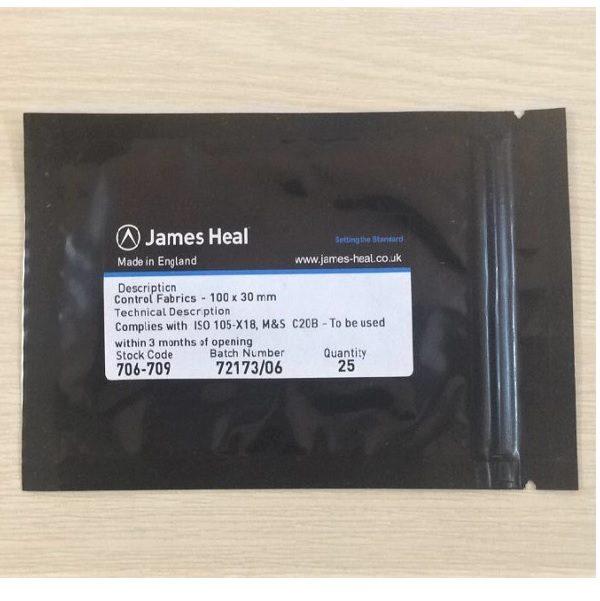 Vải kiểm soát độ ố vàng James Heal 706-709