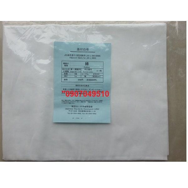 vải cotton JIS L0803